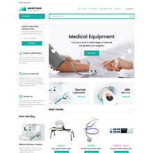 Medical Products Magento Website Design - GoWebBaby.Com