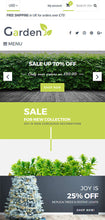 Garden Products Website - Shopify Themes - GoWebBaby.Com