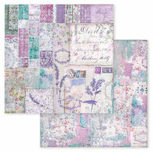 Papel Scrap 'Provence Patchwork' 30,5x30,5cm Stamperia SBB595