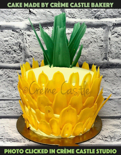 Tropical Pineapple Shape - cremecastle