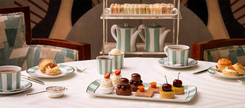 Claridge's five star luxury hotel london afternoon tea party ideas