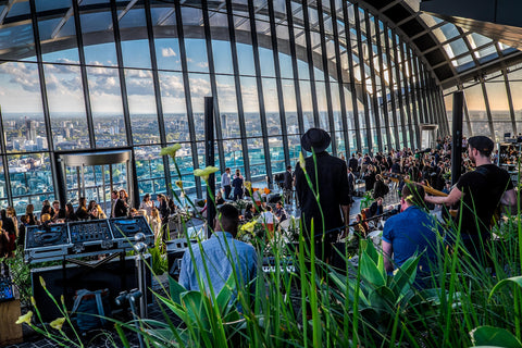 sky garden London bar venue and restaurant