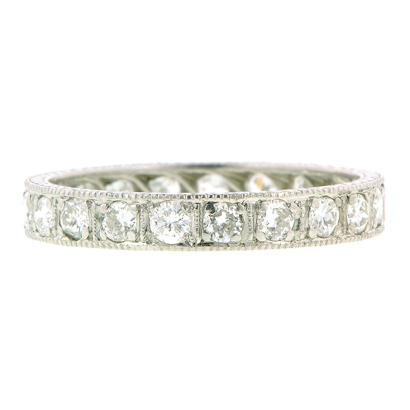 Bead Set RBC Platinum Eternity Band