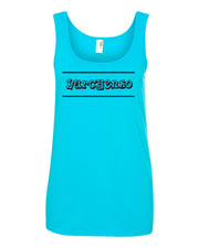 Caribbean Blue Yurchenko Ladies Gymnastics Tank Top