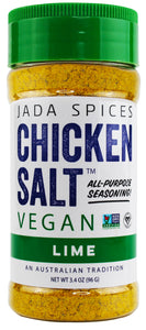 chicken salt vegan and vegetarian seasoning lime flavor