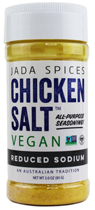 chicken salt vegan and vegetarian seasoning reduced sodium flavor