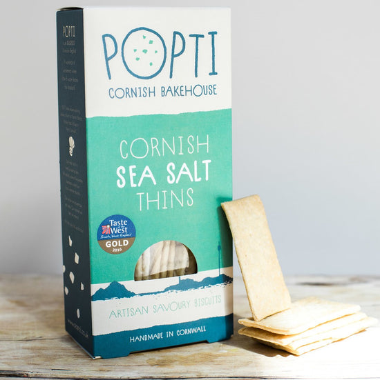 Cornish Sea Salt Savoury Thins
