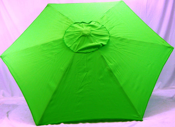 8' Beach Umbrella Lime Green Market Umbrella by Copa