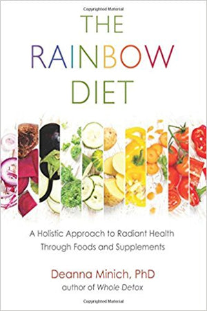 The Rainbow Diet by Deanna Minnich; free All Natural Face Mask Recipes Chart included