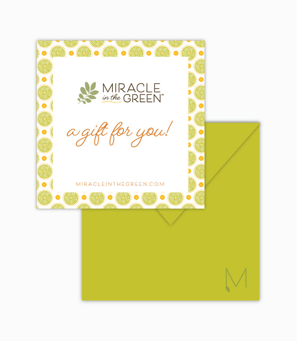 Miracle in the Green E-Gift Card