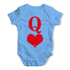 Queen Of Hearts Baby Unisex Baby Grow Bodysuit