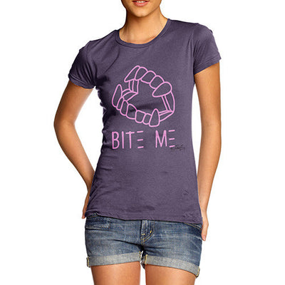 Bite Me Pink Women's T-Shirt