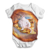 Space Pizza Cat Baby Unisex ALL-OVER PRINT Baby Grow Bodysuit