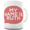 My Name Is Personalised Ceramic Novelty Mug