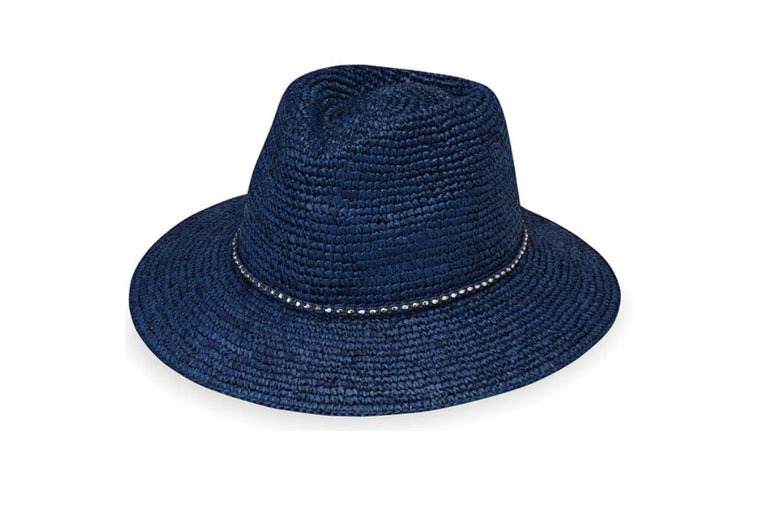 Malibu Navy Women's Sun Protection Hat