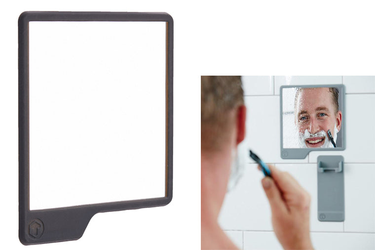 Charcoal Shower Mirror