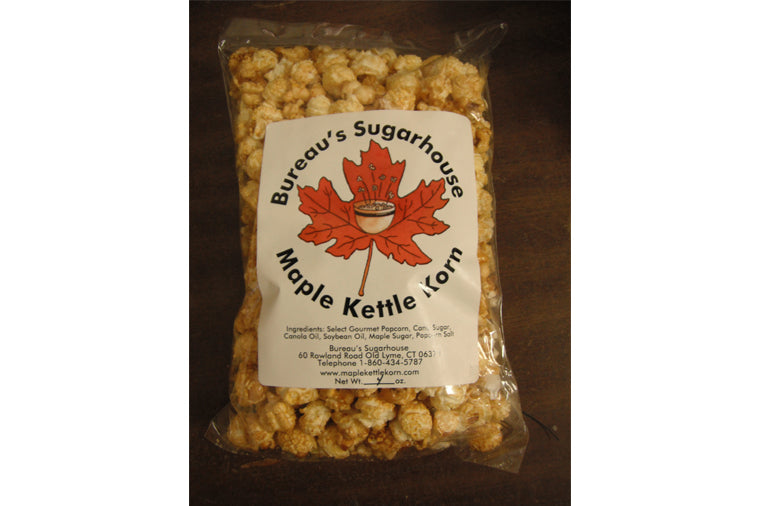 Bureau's Maple Kettle Korn - 4oz