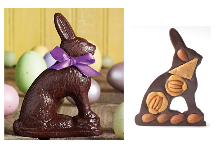 The Robert L. Strohecker Assorted Dark Chocolate Rabbit
