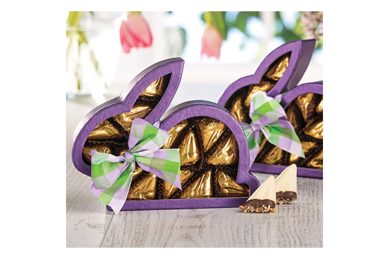 Purple Bunny Window Box Chocolates