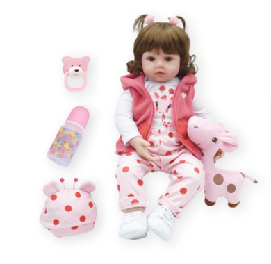 Babys doll girl adorable (silicone) Lifelike real baby. 19