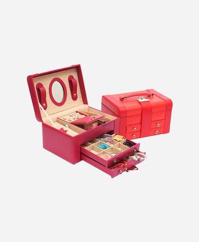 Fashion princess vintage jewelry box