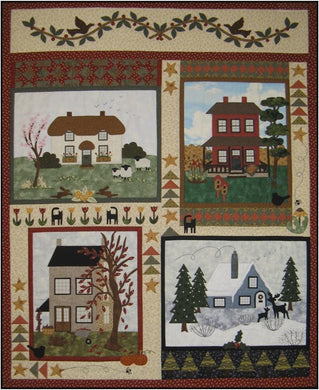 A House For All Seasons - Block of the Month