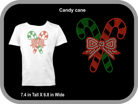 Candy cane  Christmas T shirt