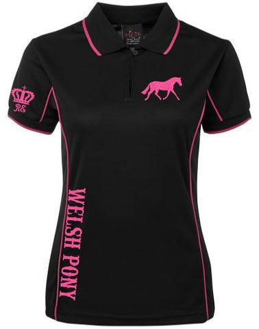 Welsh pony polo shirt