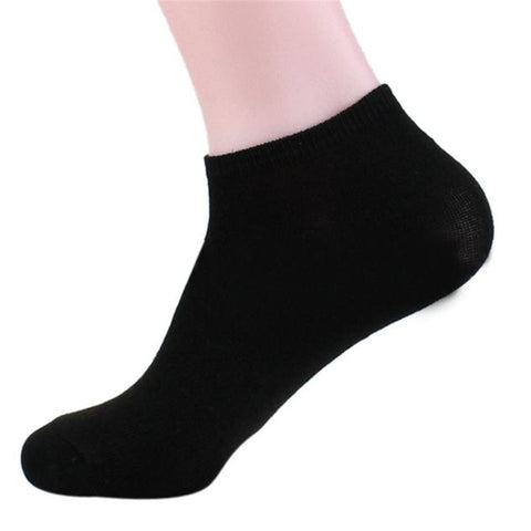 Unisex short cotton socks