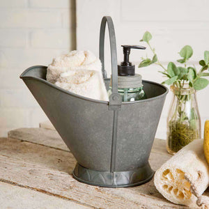[shop name]|Metal Coal Scuttle:Other Accent Decor