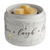 [shop name]|Fan Fragrance Candle Warmer- Live Laugh Love Illuminaire:Candles & Accessories