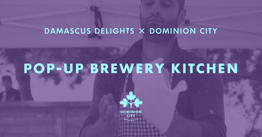 Pop-Up Brewery Kitchen: Damascus Delights
