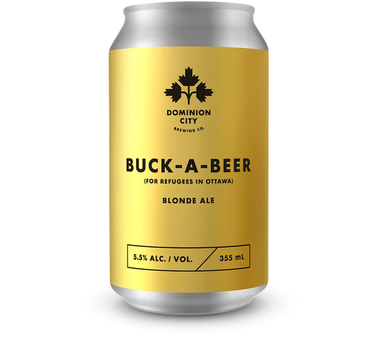 Buck-A-Beer (For Refugees in Ottawa) Blonde Ale