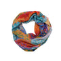 Cross Brushstroke Infinity Scarf