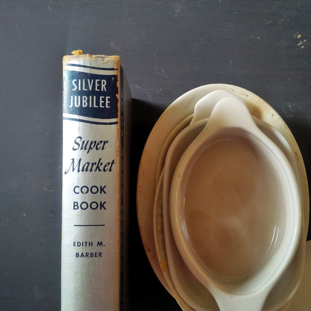 Silver Jubilee Super Market Cook Book by Edith Barber - 1955 Anniversary Edition