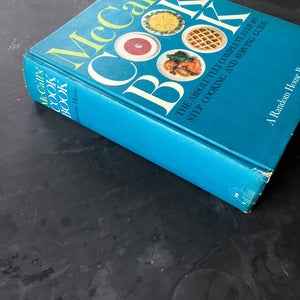 McCall's Cook Book - 1963 First Edition - 1st Printing - Turqouise Cover