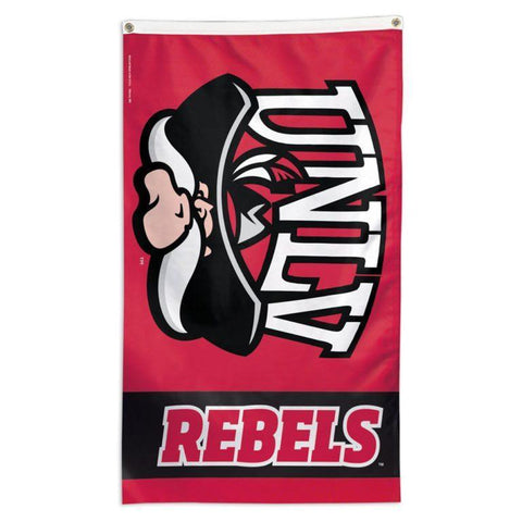 NCAA UNLV Rebels team flag for sale to fly on a flagpole