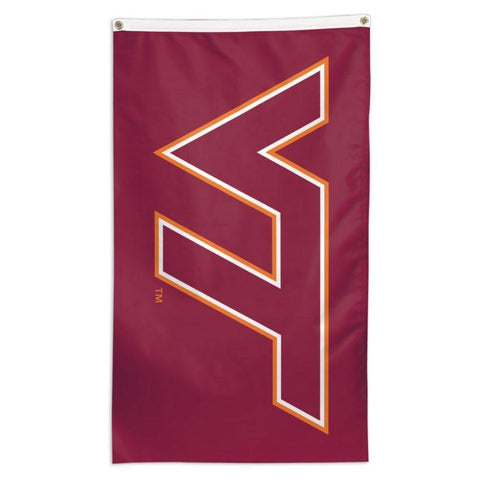 NCAA Virginia Tech Hokies team flag for sale for flagpoles at a business
