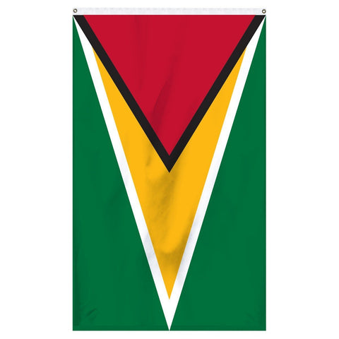 Guyana national flag for sale to buy online for flagpoles and parades