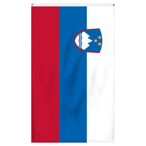 Slovenia National flag for sale to buy online from Atlantic Flag and Pole