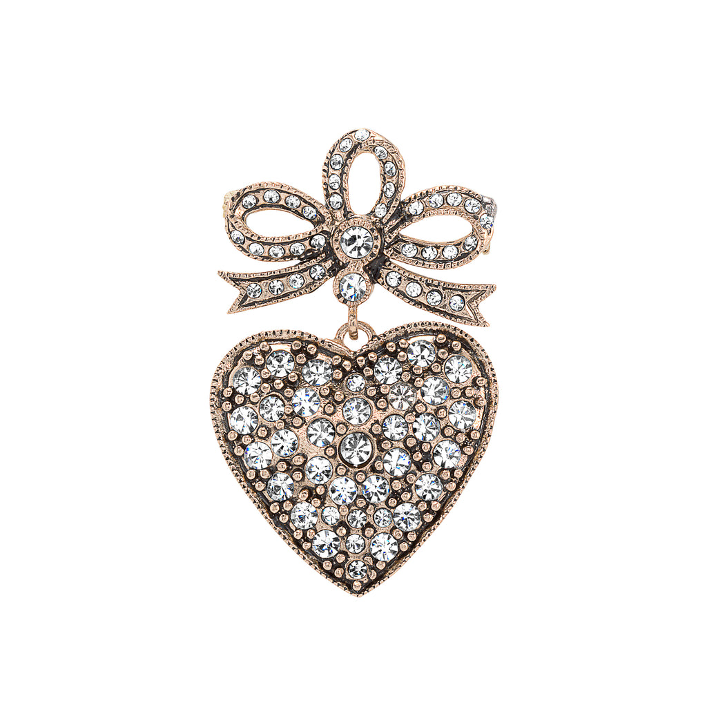 Vintage Heart Brooch