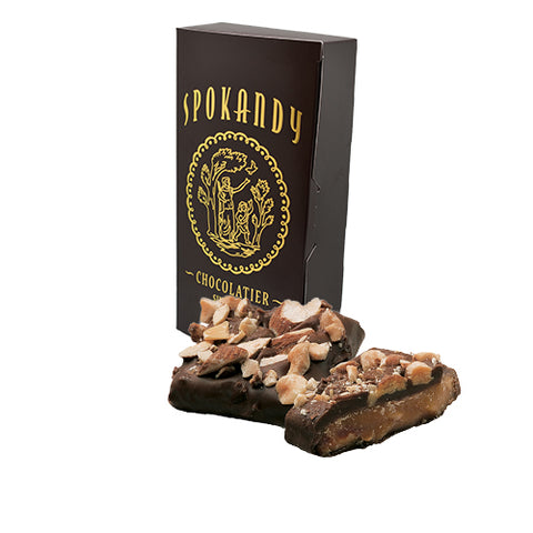 English Almond Toffee, Dark Chocolate 24 oz