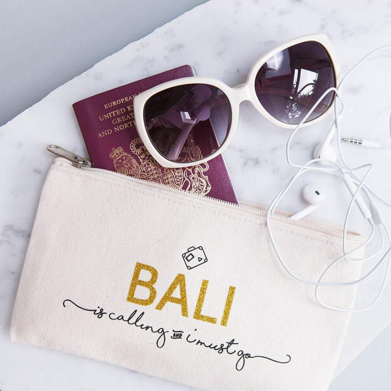 Destination Is Calling Travel Pouch