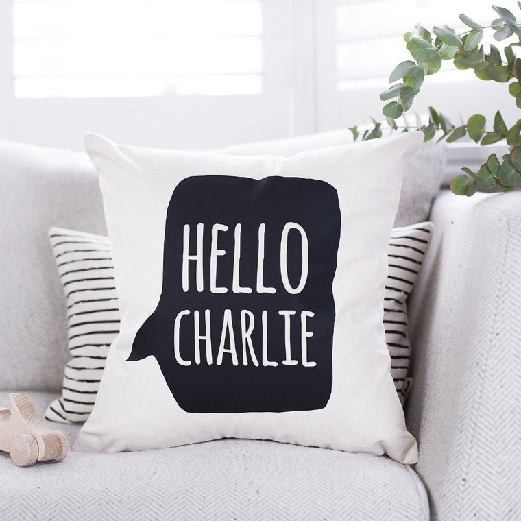 Speech Bubble Nursery Cushion-clouds-and-currents