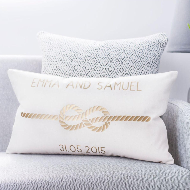 Infinity Love Knot Cushion