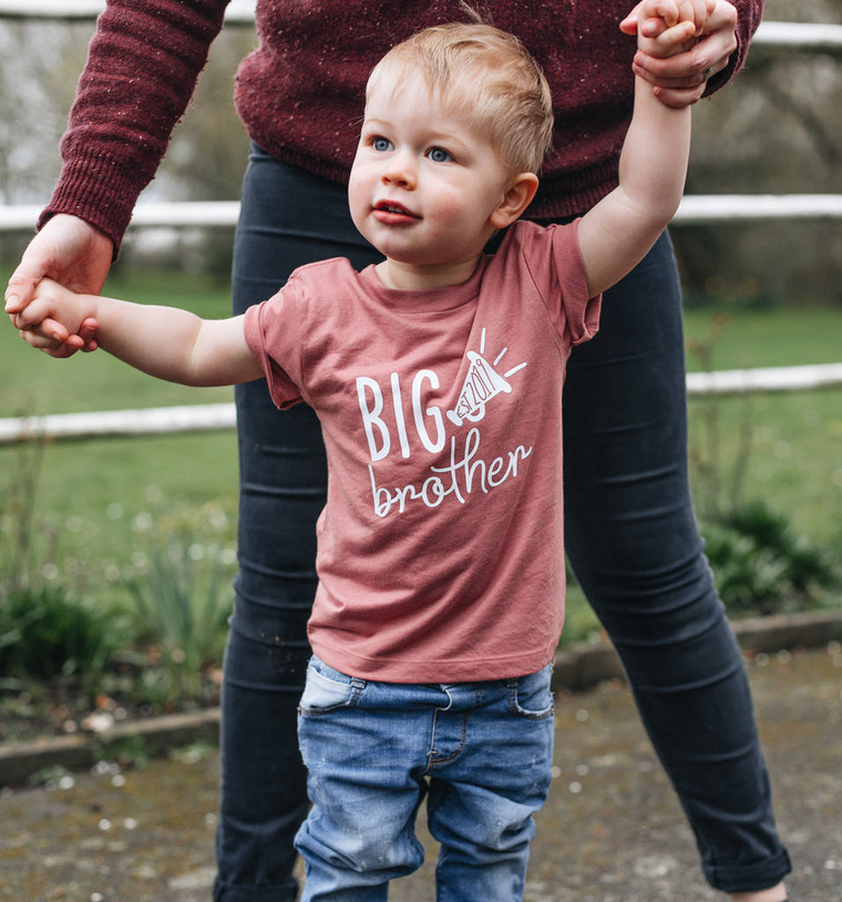 Personalised Birth Announcement Big Brother T-Shirt