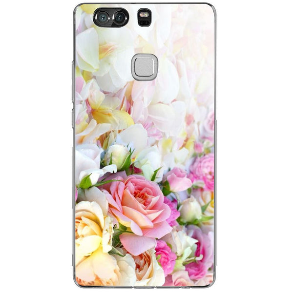 Husă Beatutiful Flowers Background HUAWEI P9 Plus-Guardo.shop-Guardo.shop