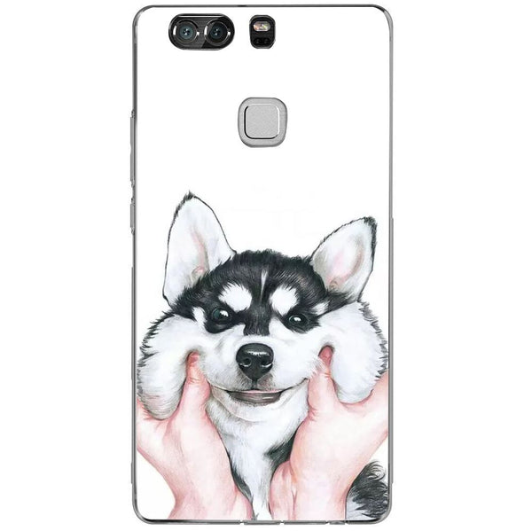 Husă Cute Husky HUAWEI P9 Plus-Guardo.shop-Guardo.shop