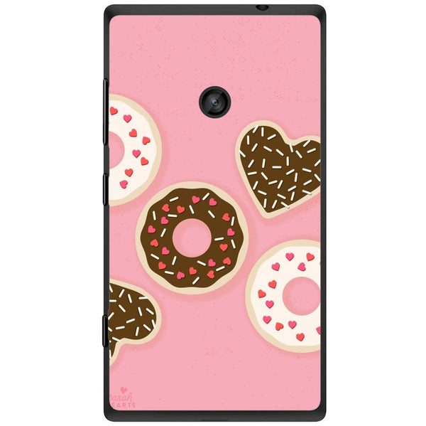 Husă Donuts Nokia Lumia 520-Husa-Guardo.shop