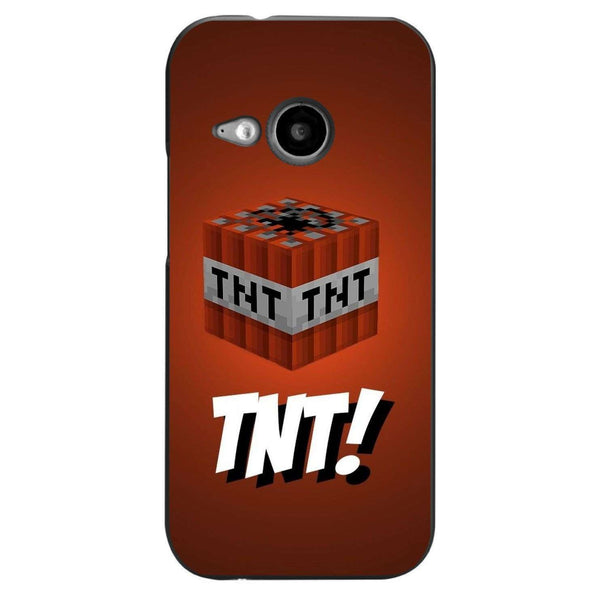Husă Minecraft - Tnt HTC One Mini 2 (m8)-Guardo.shop-Guardo.shop